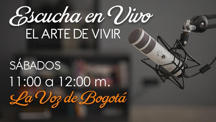 Escucha en vivo El Arte de Vivir | La voz de Bogotá