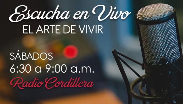Escucha en vivo El Arte de Vivir | Radio Cordillera