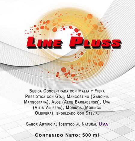 Line Pluss bebida concentrada con malta y fibra